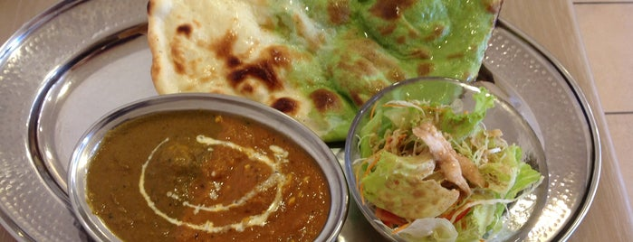 Indian dining ハスノハナ is one of 関西カレー部.