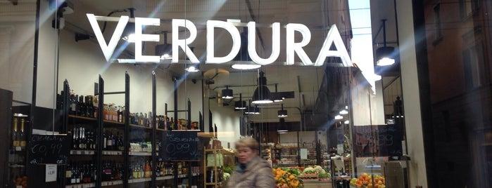 Verdura is one of Bologna.