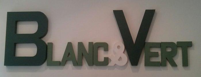 Blanc & Vert is one of Paris.