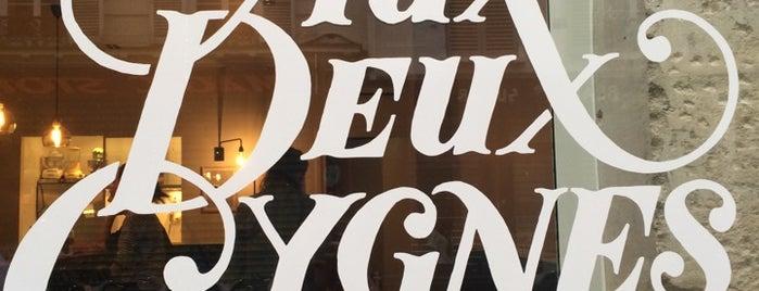 Aux deux cygnes is one of Tapas, restauration rapide.