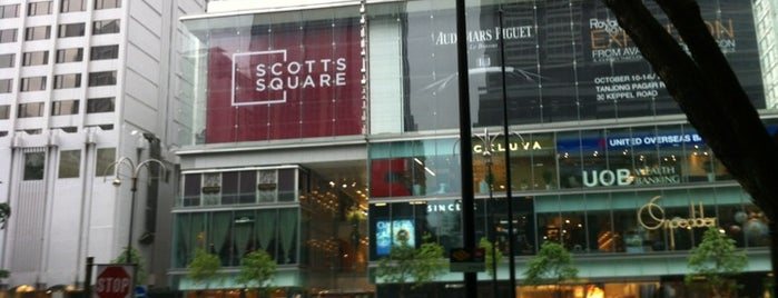 Scotts Square is one of Singapore.