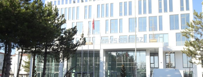 EWE Holding Kayserigaz A.Ş. is one of Betül : понравившиеся места.
