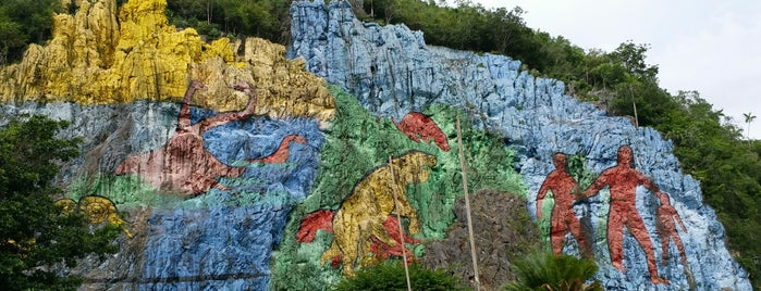 Mural de la Prehistoria is one of Cuba.