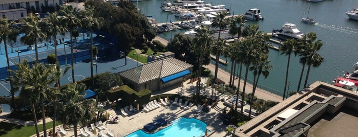 The Ritz-Carlton, Marina del Rey is one of California.