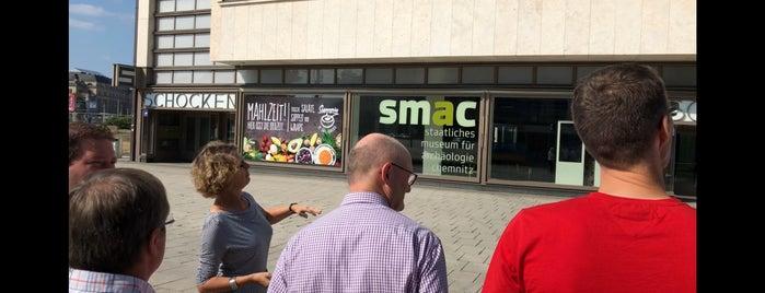 Staatliches Museum für Archäologie (smac) is one of Chosy 2018 | Kunst und Kultur in Chemnitz.