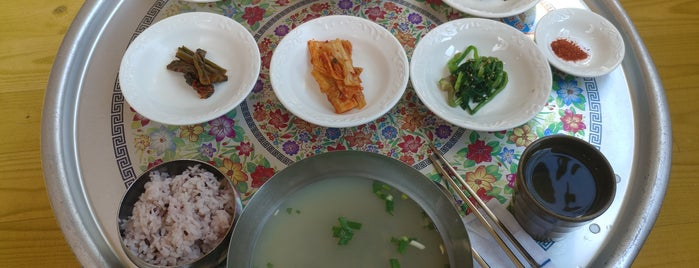 청룡식당 is one of 식당.