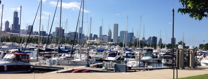 Burnham Harbor is one of Bikabout Chicago.