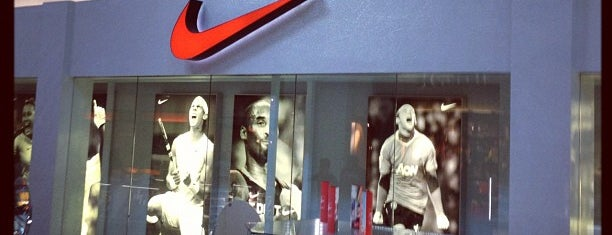 Nike Factory Store is one of Pavlos list.