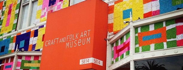 Craft & Folk Art Museum is one of 87 Free Things To Do in LA.