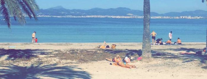 Playa de Palma is one of Mallorca.