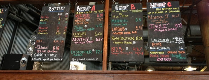 Greenbush Brewing Company is one of Not Chicago.