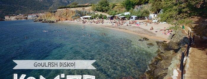 Aquarius beach bar is one of Croatia.