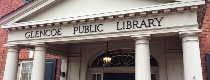 Glencoe Public Library is one of Locais curtidos por Katie.