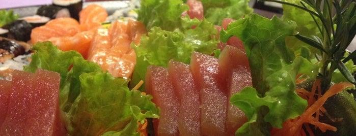Jiro Sushi is one of Lu'nun Beğendiği Mekanlar.