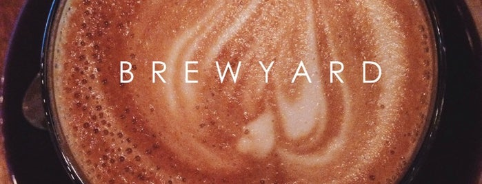 Brewyard Coffee is one of Coffee, Tea or B.
