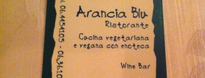 Arancia Blu is one of Mangiare vegan a Roma.