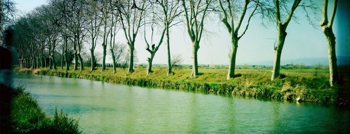 Canal du Midi is one of Pays Cathare.