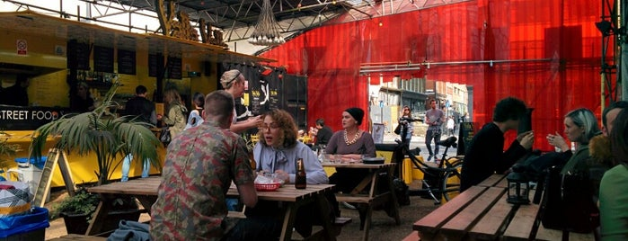Shoreditch Food Village is one of London.