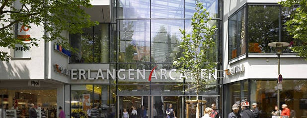 Erlangen Arcaden is one of Evren 님이 좋아한 장소.