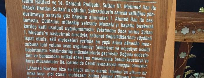 Sultanahmet Padişah Türbeleri is one of 1-Fatih to Do List | Spiritüel Merkezler.