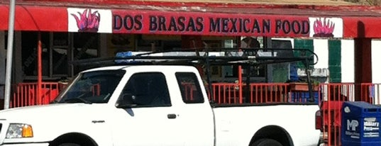 Dos Brasas Mexican Food is one of Locais curtidos por Jeremy.