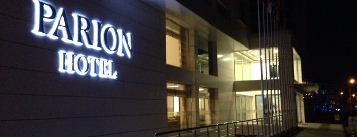 Parion Hotel is one of TC Hamideさんのお気に入りスポット.