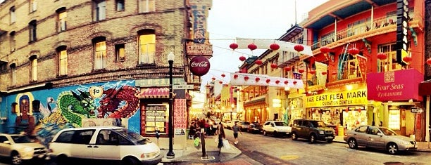 Chinatown is one of Sights to See in San Francisco.