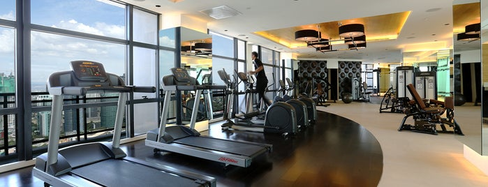 The Gramercy Fitness Center is one of Makati City.
