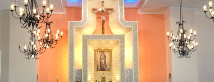 National Shrine of Our Lady of Guadalupe is one of Makati City.