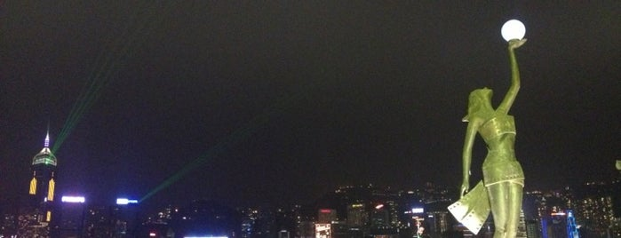 Avenue of Stars is one of Hong Kong.