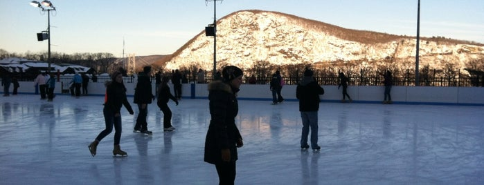 Bear Mountain Ice Rink is one of Locais curtidos por Brad.