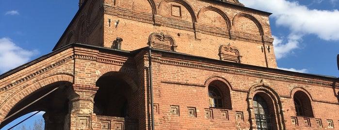 Храмы Успения Богородицы и Воскресения Словущего в Крутицах is one of Православные церкви на Таганке.