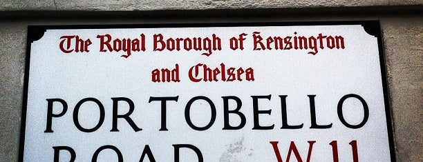 Portobello Road is one of LUGARES.