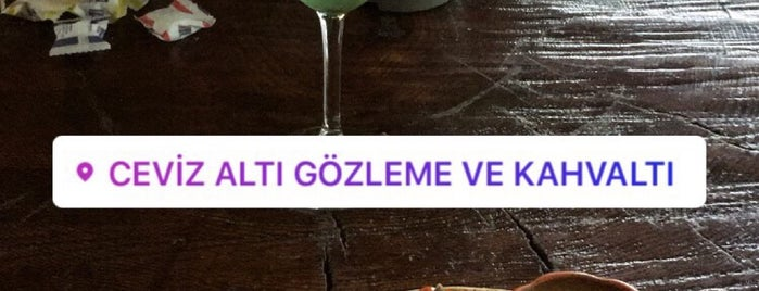 Ceviz Altı Gözleme Ve Kahvaltı is one of 'Özlem 님이 좋아한 장소.