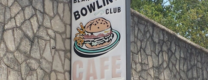 Blanco Bowling Club Café is one of Texas.