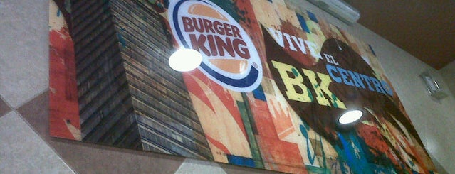Burger King is one of Lugares favoritos de Marco.