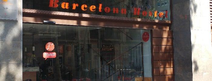 Yeah Hostel Barcelona is one of Lugares guardados de Nikki.
