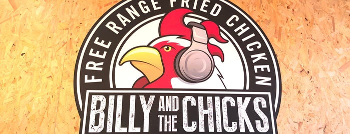 Billy & The Chicks is one of DINNER LONDON.