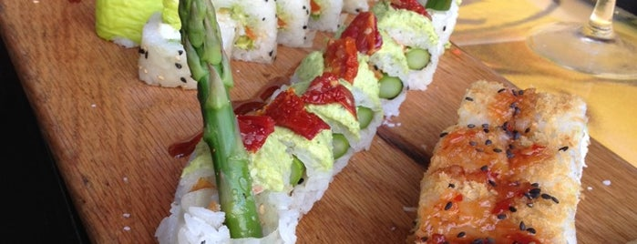 Blue Sushi Sake Grill is one of 25 Top Sushi Spots in the U.S..