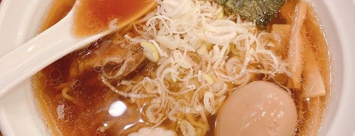 麺家 さざんか is one of Tempat yang Disimpan Hide.