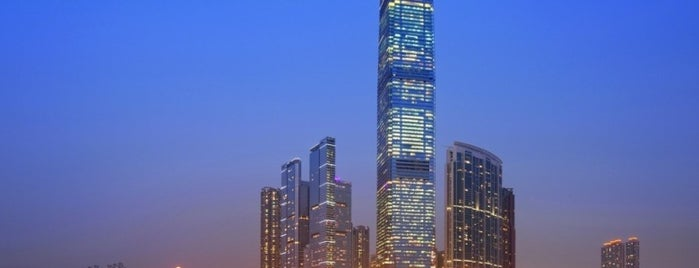 The Ritz-Carlton, Hong Kong is one of Crazy Places.