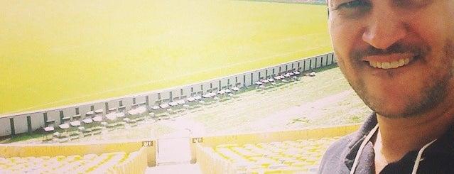 Estádio Jornalista Mário Filho (Maracanã) is one of Orte, die DOUGLAS gefallen.
