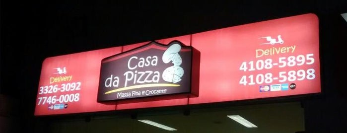 Casa da Pizza is one of pizzaria.