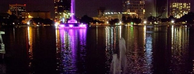 Lake Eola Park is one of Top photography spots.