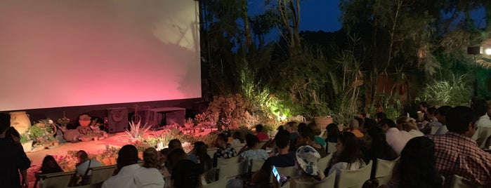 Open Air Cinema Kamari is one of Greece 🇬🇷.