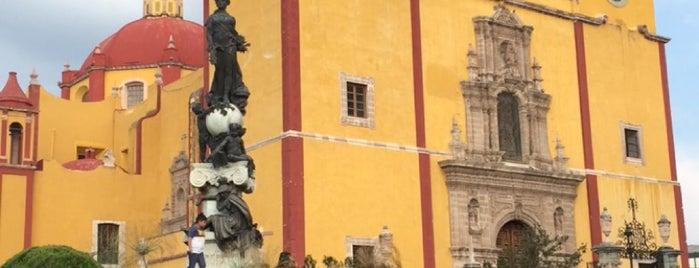 Basílica Colegiata de Nuestra Señora de Guanajuato is one of Cristina : понравившиеся места.