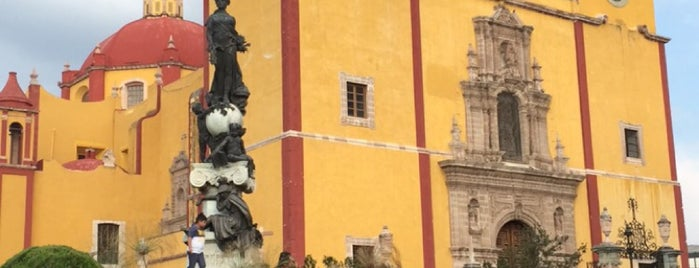 Basílica Colegiata de Nuestra Señora de Guanajuato is one of Cristina'nın Beğendiği Mekanlar.