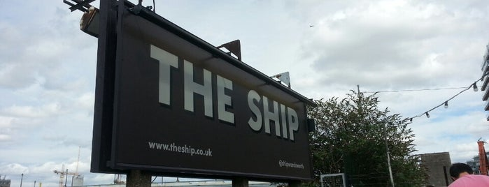 The Ship is one of Enjoyed visiting this place.