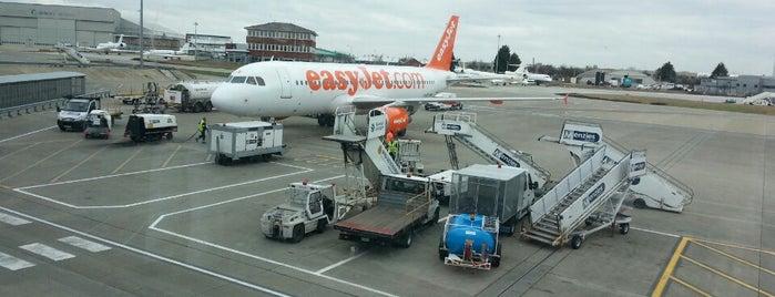 London Luton Airport (LTN) is one of สนามบินนานาชาติ (1).