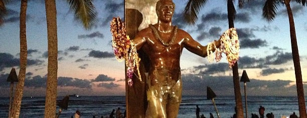 Duke Kahanamoku Statue is one of Hawaii.